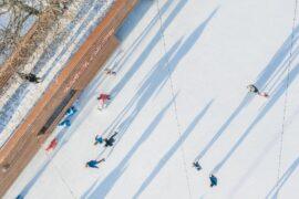 Жителей Петербурга приглашают посетить новый панорамный «Каток у моря»