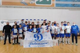 Игрокам МФК «Динамо Пушкино» вручили заслуженные награды