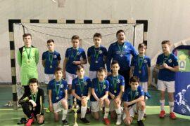 Футболисты МФК «Динамо Пушкино» стали вторыми в Открытом Кубке Московской области по мини-футболу