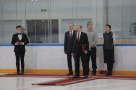 Михаил Романов принял участие в открытии Академии хоккейного мастерства имени Валерия Харламова
