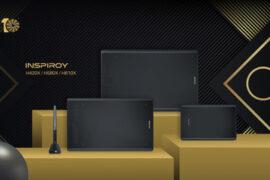 Huion представляет новые графические планшеты Inspiroy H420X, H580X и H610X