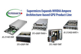 Supermicro расширяет ассортимент ГП на базе NVIDIA Ampere для корпоративных систем ИИ
