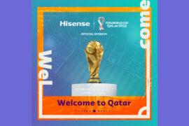 Hisense становится официальным спонсором FIFA World Cup Qatar 2022™