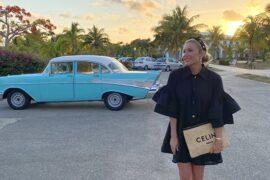 Основательница Infinity Fashion brand, блогер Елена Петрулевич отдыхает на Кубе