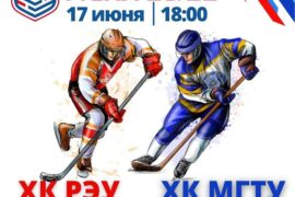 Финал Высшего дивизиона «Магистр» Московской студенческой хоккейной лиги сезона 2020/2021 