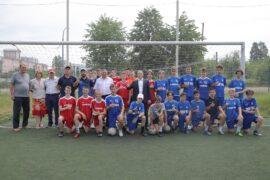 Михаил Романов посетил тренировку футбольной команды СШОР №2 Невского района
