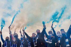 Руслан Гайсин организовал акцию болельщиков «Зенита» у стадиона «Петровский»