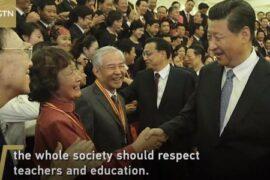 CGTN: отношение Си Цзиньпиня к учителям как пример для подражания