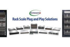Supermicro представляет стоечную облачную инфраструктуру Plug & Play