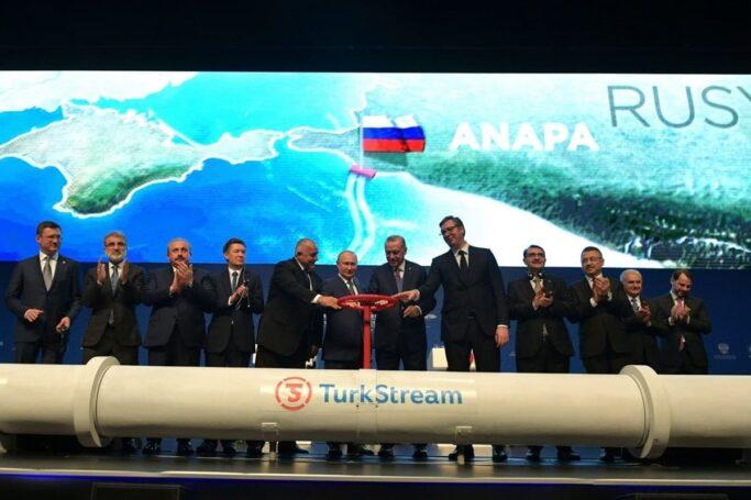В Турции заявили о переговорах по новому газовому контракту с РФ