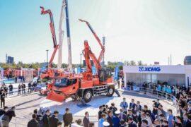 XCMG представляет передовое аварийно-спасательное оборудование на выставке China Fire 2021